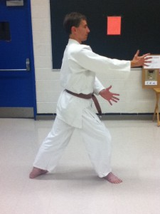 Kamae - standard position for beginning a technique