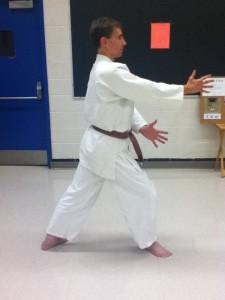 Kamae - standard position for beginning a technique
