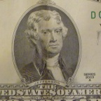 Thomas Jefferson - 2 Dollar Bill