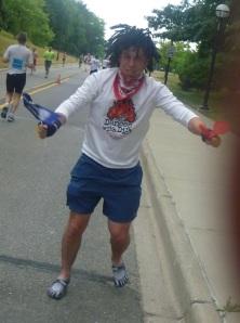 No marathon? What are you, CRAZY??