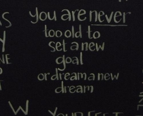 Sign - Set A New Goal