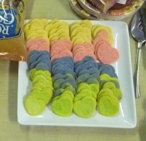 Feb 2013 - Colorful Cookies