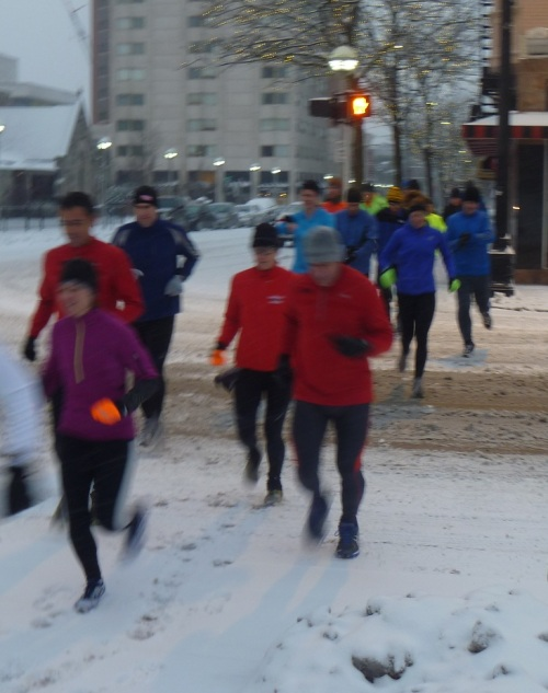 Saturday Run - Winter 2012