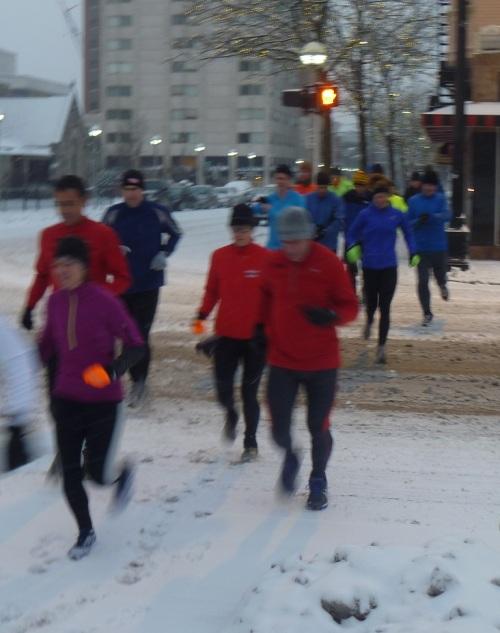 Saturday Run - Winter 2012