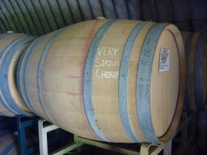 Black Star Farms - Brandy barrels