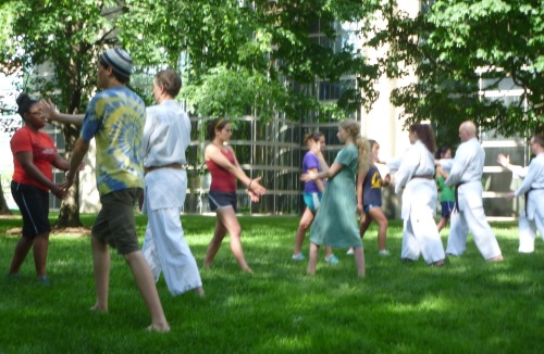 Aikido retreat