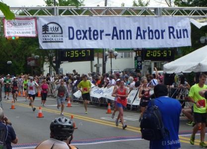 DXA2 2013 finish line