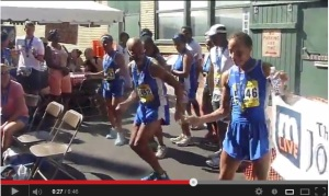 Team Stone Steppers gets down after the race. Click here to view them in action.