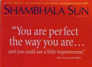 Shambhala Sun - You Are Perfect