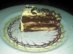 Birthday dessert 1