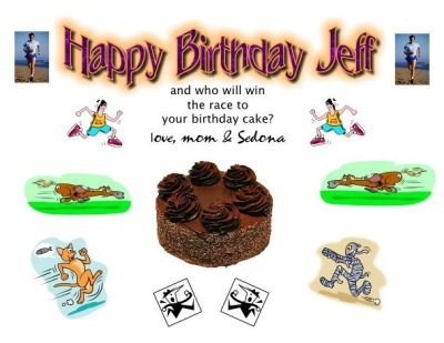 Birthday e-card from my mom. Pretty cool!