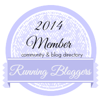 Running Bloggers badge 2014