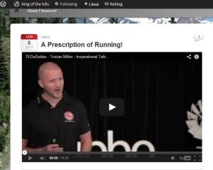 Tristan Miller TEDx Talk - zinnrunning