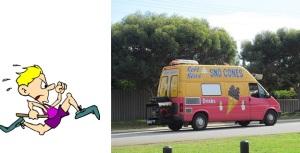 Chasing Ice Cream Truck