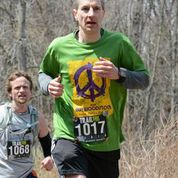 Matt and I battle to the death - or the finish line, whichever comes first.