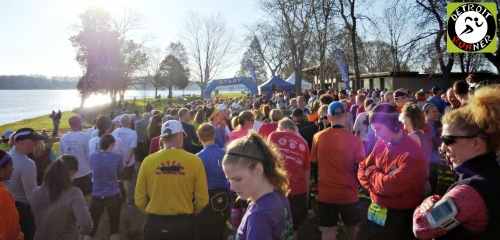 I'm in there somewhere. (Photo courtesy Detroit Runner)