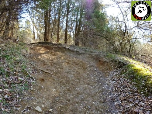 Did I mention there are roots and rocks on the trail? And for added fun, many are covered by leaves.