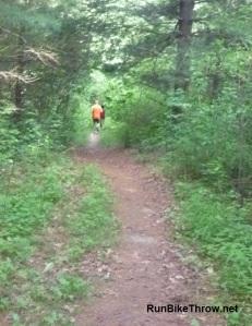 Trail run to the Dash and Burn