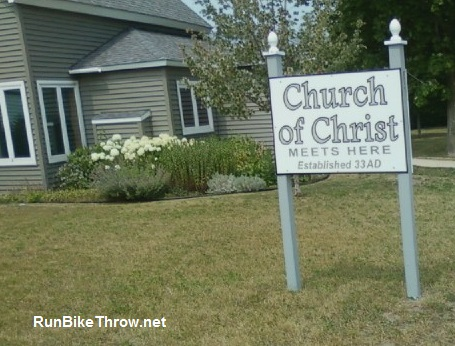 Sign - Church of Christ - Beulah