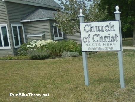 Sign - Church of Christ - Beulah