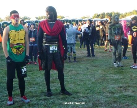 Run Scream Run - costumes