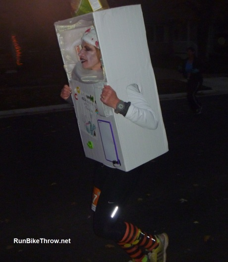 Wicked Halloween Run - Refrigerator Costume