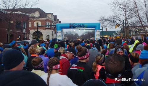 Chocolate Run - 10K start
