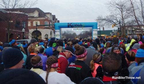 Chocolate Run - 10K start