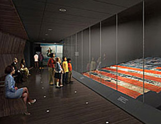 Star Spangled Banner exhibit