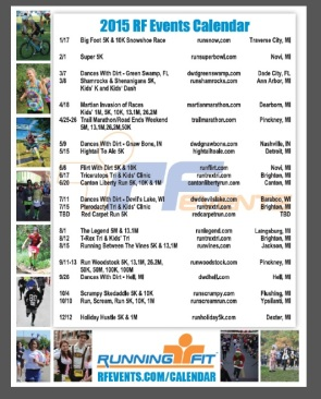Here's the 2015 events, if you'd like to take the title from me! (Click to enlarge.)