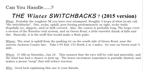 Winter Switchbacks - Part of the Promo