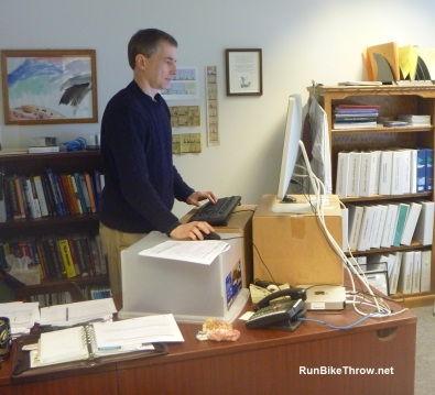 Do-it-Myself Stand-up Desk