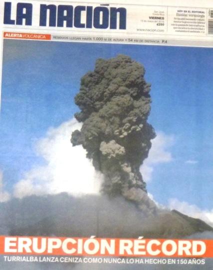 Volcano eruption - Costa Rica