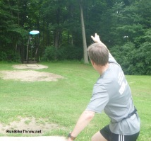 Me Playing Disc Golf