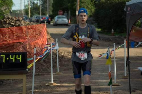 Voyageur 2015 - Finish Line