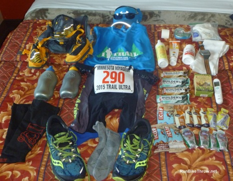 Gear for Voyageur Trail Ultra