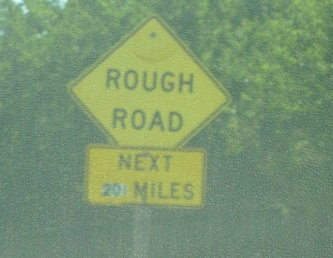 "Somebody pasted this on to make it look like ""200 miles"". Not true, as it turned out."