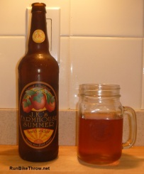 Scrumpy Bottle with Finishers Mug