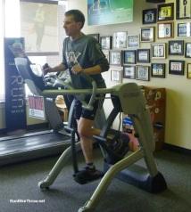 Me on Zero Runner