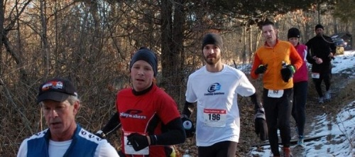The Yankee Springs Winter Challenge in Middleville, MI.