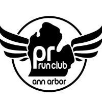 PR Run Club logo